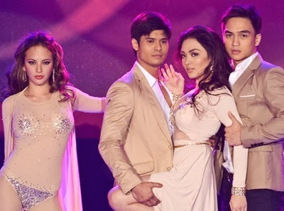Ellen Adarna, JC de Vera, Meg Imperial and Dominic Roque in Moon of Desire