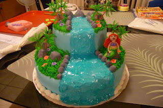 Special day cakes the best ariel birthday cakes design for Ariel cake decoration