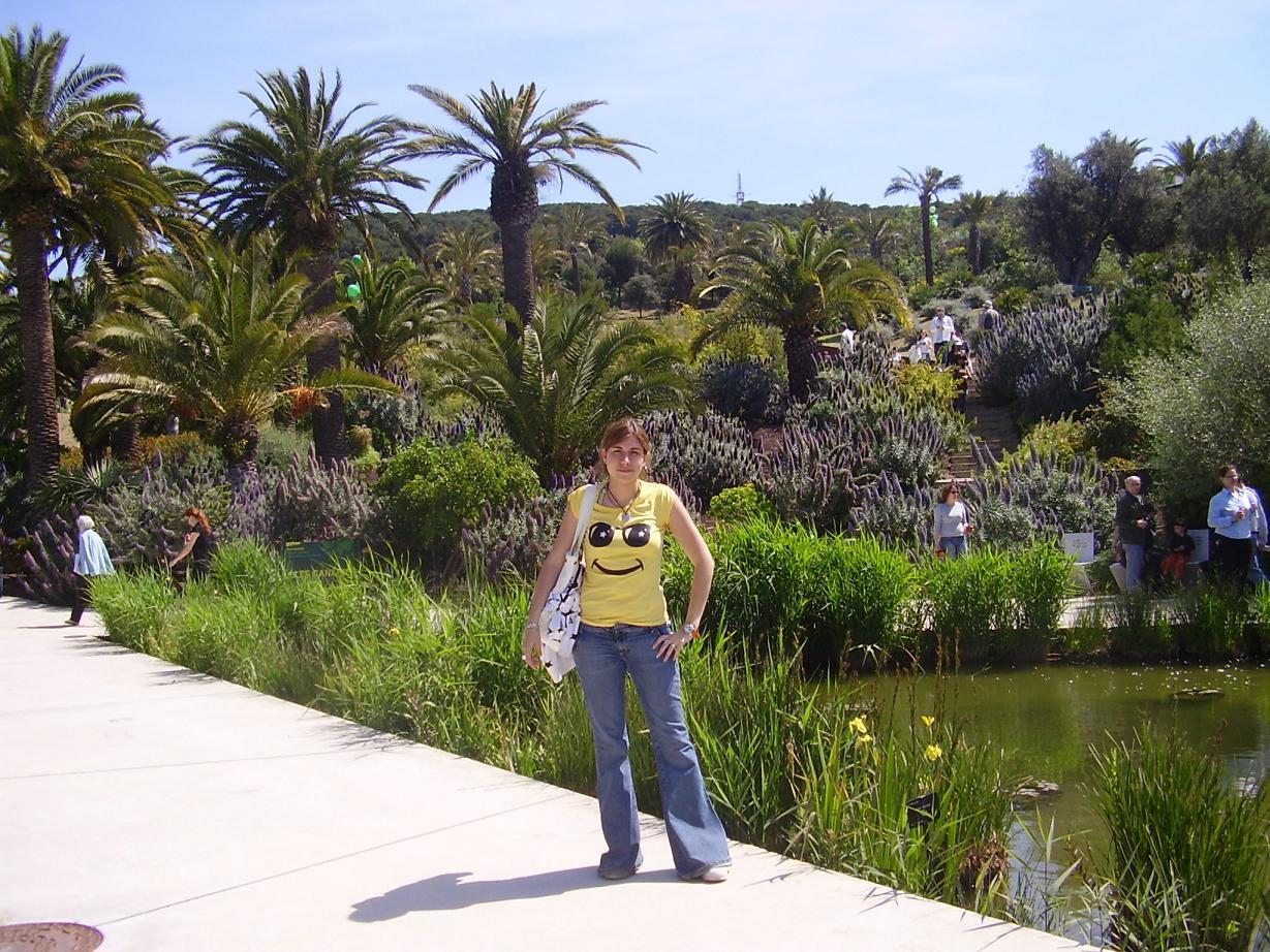 Jardin barcelona hd 1080p 4k foto for Barcelona jardin