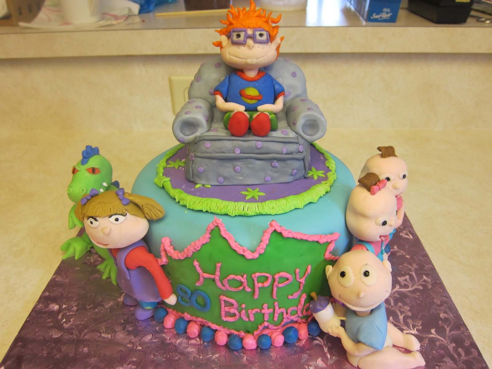 Oh Goodness Cakes Return Of The Rugrats