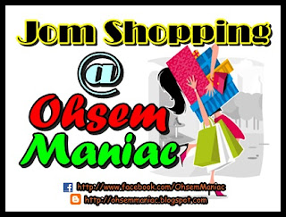 Contest Jom Shopping @ Ohsem Maniac
