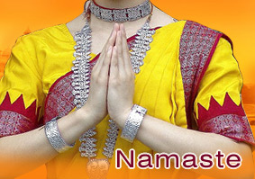 Chef darshan dabral culture of india greetings namaste or namaskar is the indian way of greeting each other wherever they are on the street in the house in public transport on vacation or on the m4hsunfo
