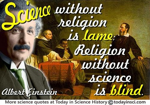 Towards the union of science and religion / spirituality