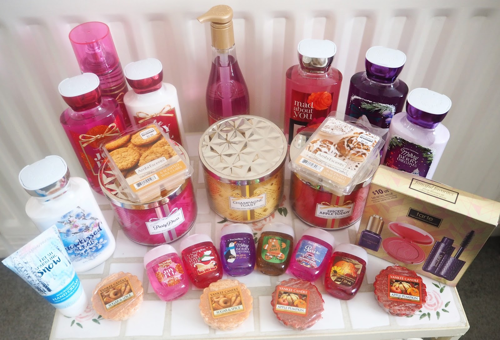 New York Haul: Bath & Bodyworks, Yankee Candle, Tarte Cosmetics | Katie Kirk Loves