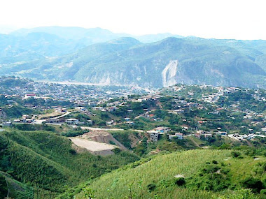 Este es Tlapa visto desde la carretera Tlapa-Igualita