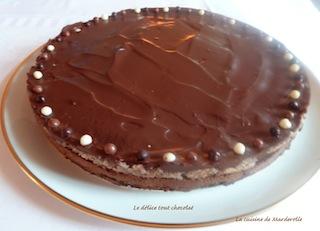 très bon dessert au chocolat