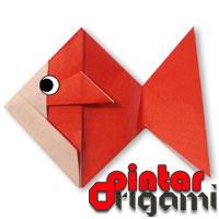 Cara Membuat Origami Ikan Mas
