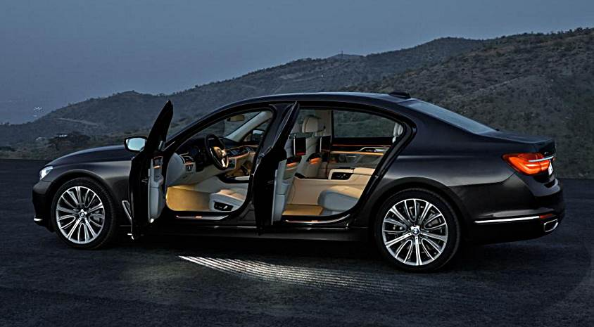 2016 BMW 7 Series Rendering Interior