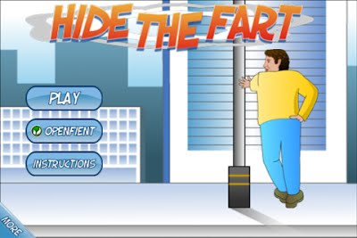 Hide The Fart Free App Game By Santpal Dhillon
