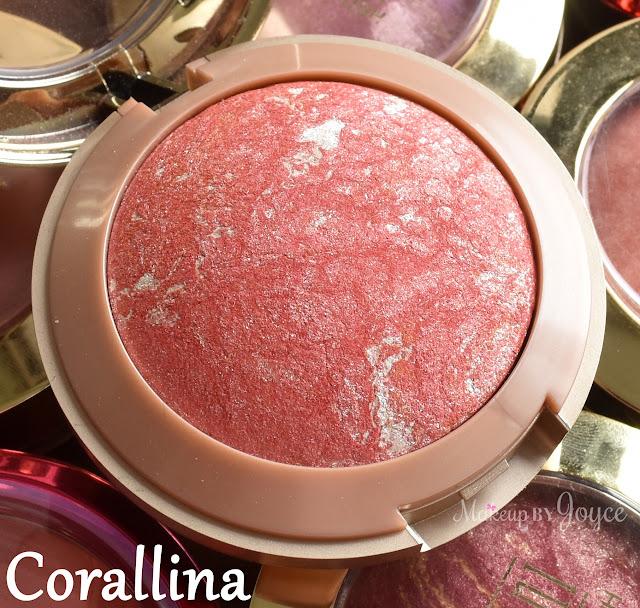 Milani Baked Blush Corallina Swatch