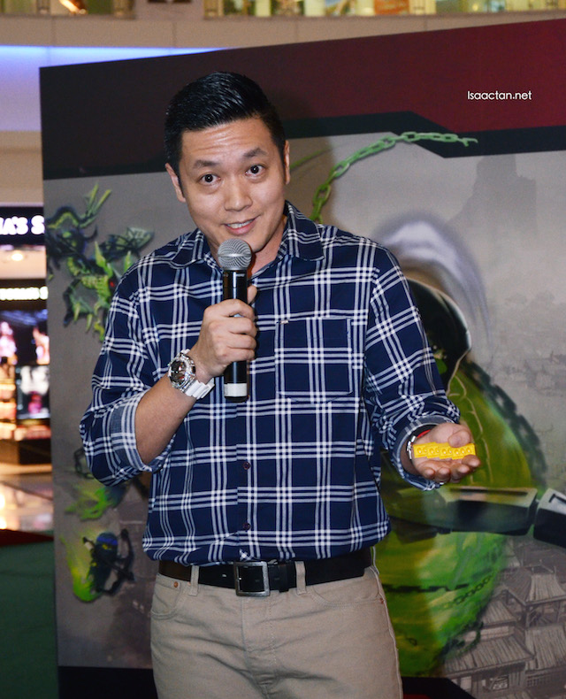 Dick Yoong, Country Manager of LEGO Malaysia