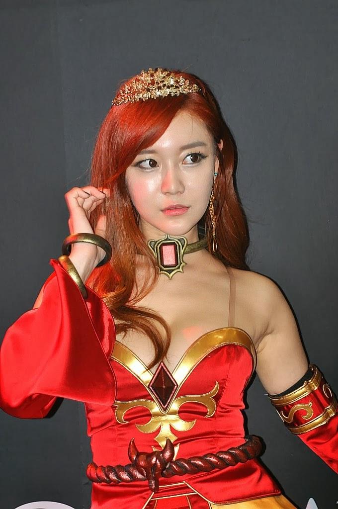Beru812 Dota 2 Cosplay Lina G STAR 2013 Choi Seul Ki Part 2