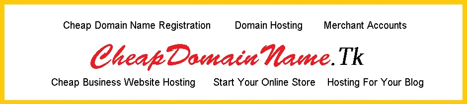 Cheap Domain Name - Cheap Domain