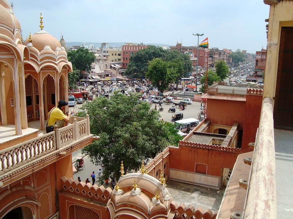 Красота Дворца Ветров Хава-Махал, Джайпур, Индия