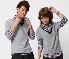 thoi trang cap4 Quần áo đôi   xu hướng thời trang hiện nay