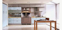 Modern Home Kitchen Design for Multi Purpose Room