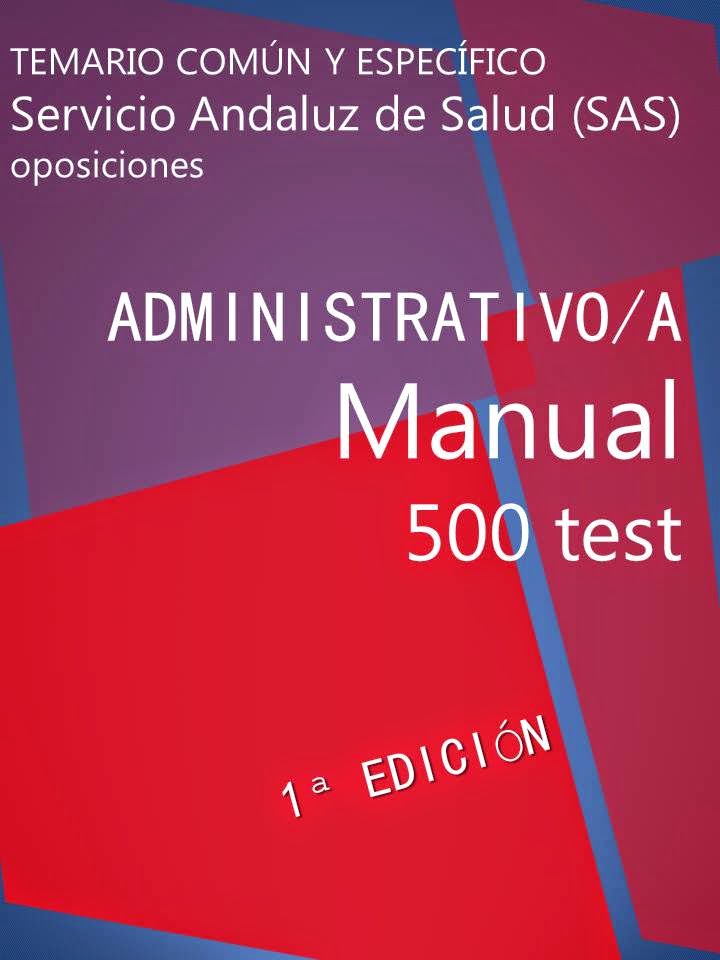 Manual 500 test administrativo