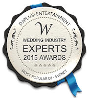 DJ:Plus! Entertainment Best Wedding DJ Sydney Winner 2015