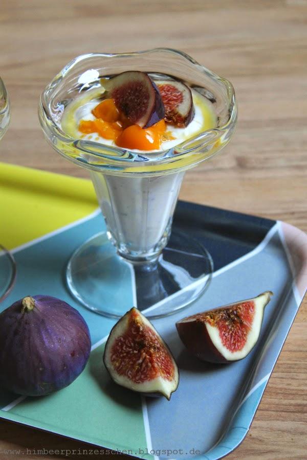 Ritter Sport Joghurt Feigen Physalis Dessert Himbeerprinzesschen Food Blog