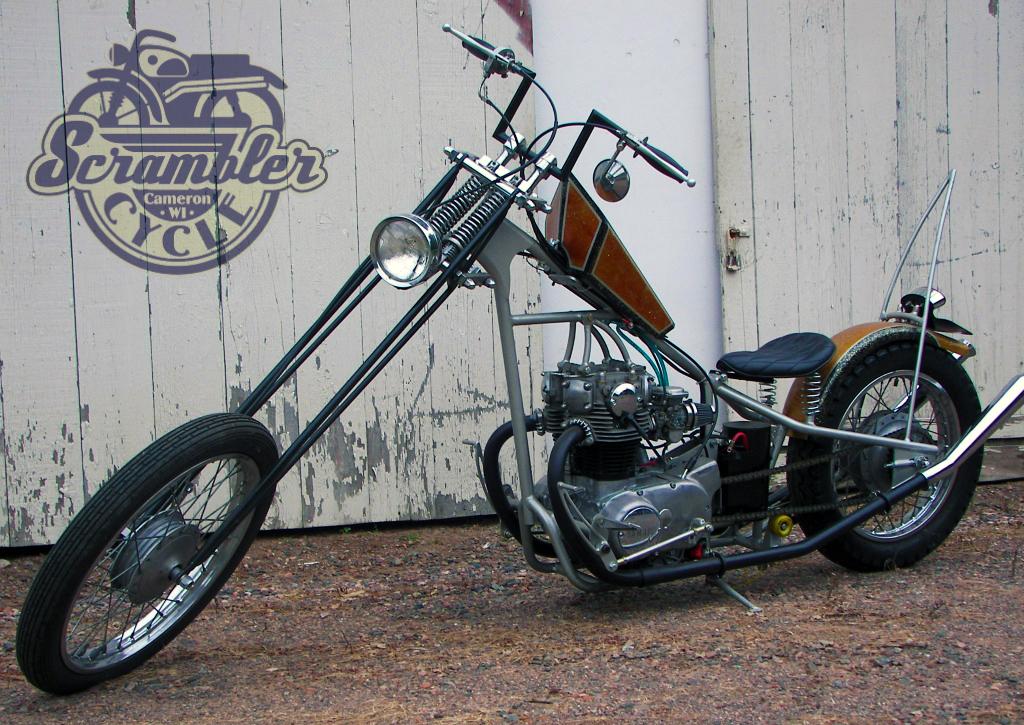 xs650 chopper front | scrambler cycle - wisconsin