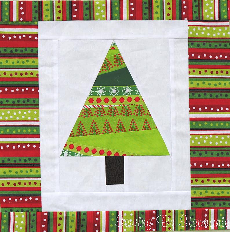 Sewing By Stephanie: 12 Days of Christmas Sampler Quilt, blocks 5-12 : christmas quilt block - Adamdwight.com