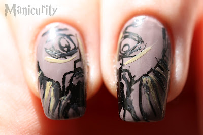 Harry Potter and the Chamber of Secrets nails macro