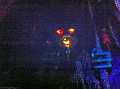 Mr. Toad's Wild Ride Disneyland interior hell dragon monster