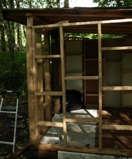 How to Build a Storage Shed Out of Recycled Materials