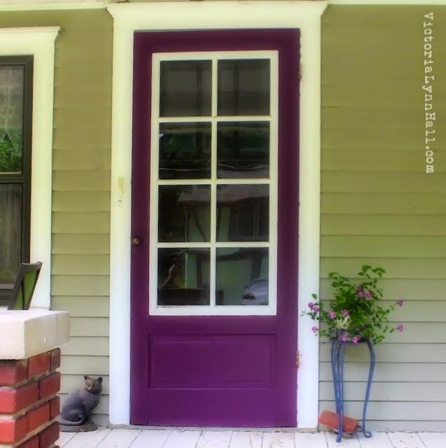 Another purple door & I Believe In Art By Victoria Lynn Hall: July 2014
