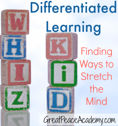 Finding ways to stretch the mind in gifted homeschooling.