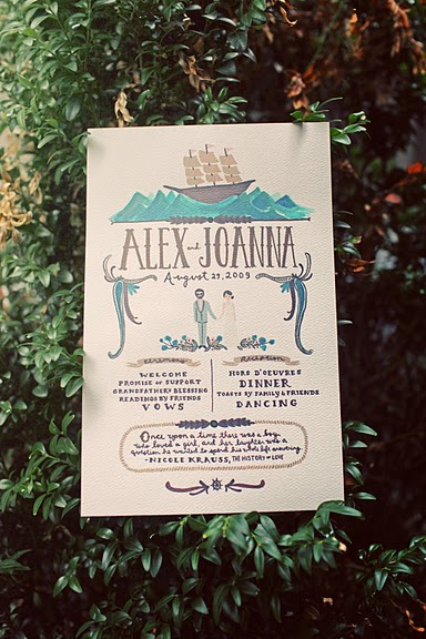 It S The Little Things Wedding Programs