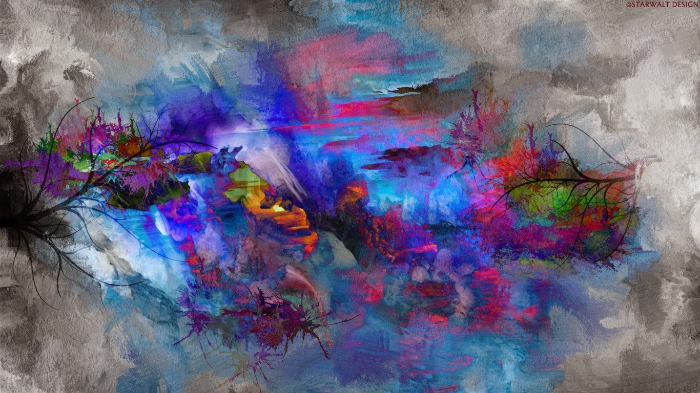 Hdpicture in amazing 4k wallpapers for Abstract art mural