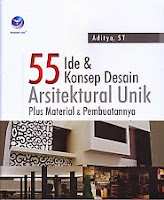 toko buku rahma: buku 55 IDE DAN KONSEP DESAUB ARSITEKTURAL UNIK, pengarang aditya, penerbit andi