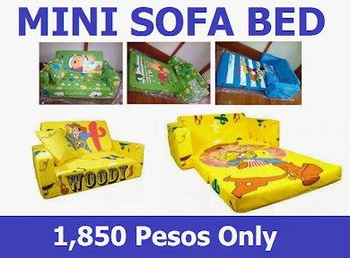 Mini Sofa Bed (1,850 php)