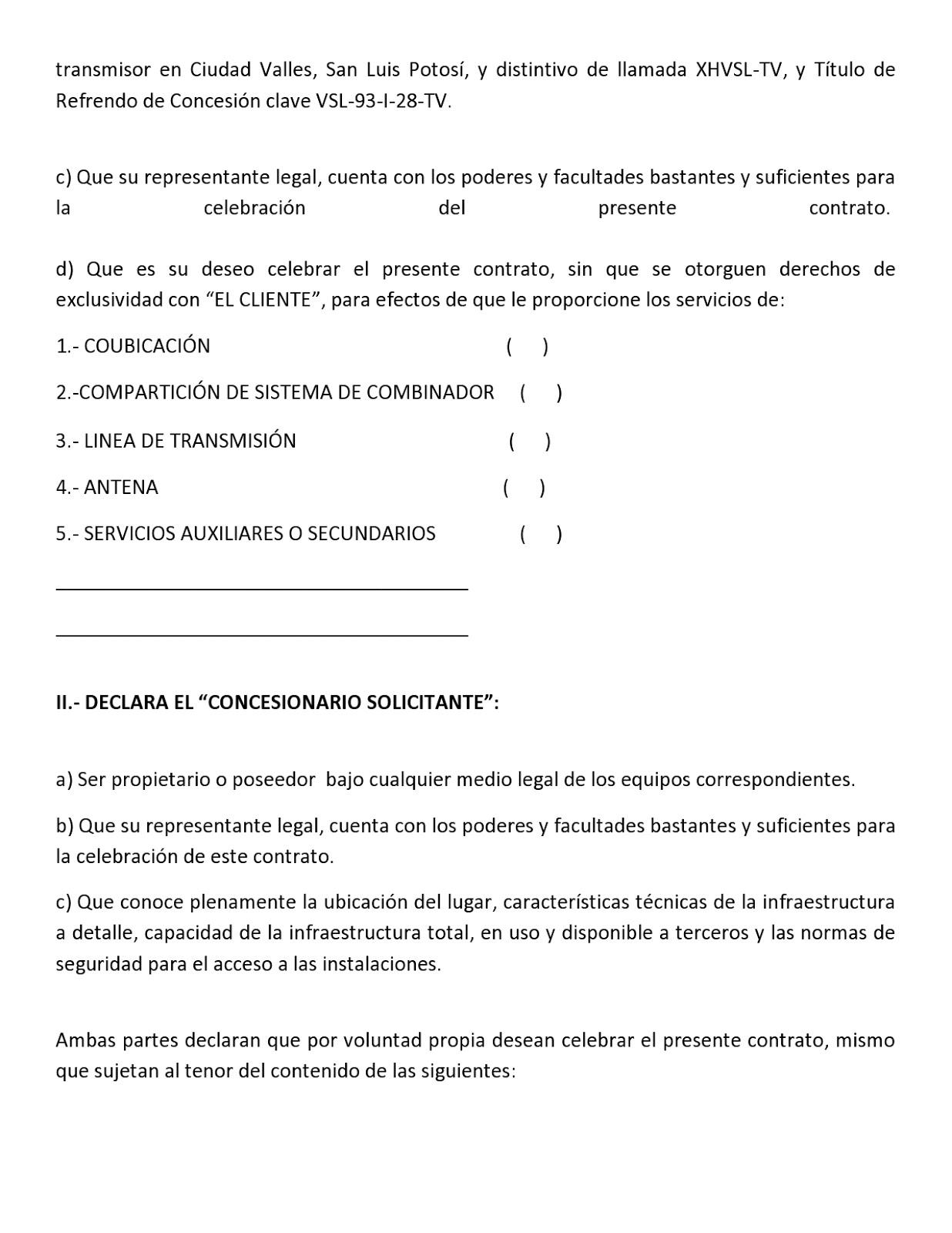 Oferta de la Red Pública 05