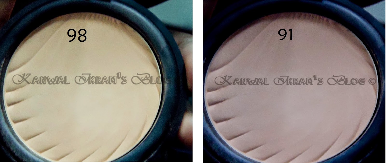 Flormar Compact Powder- shade 98 and 91