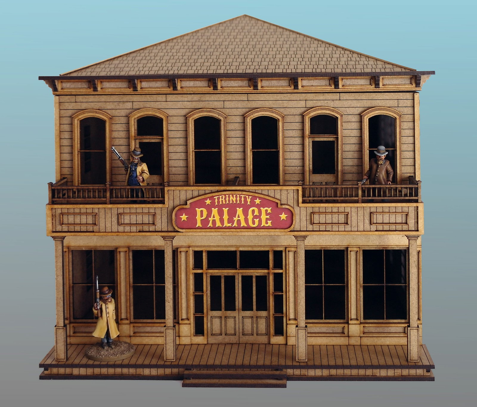 28mm Old West Hotel For Wild West Cowboy Wargames And