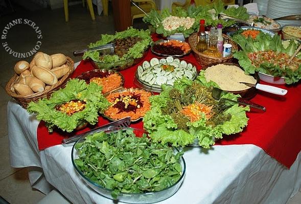 Cozinhaterapia vovoszinha tabule de couscous marroquino for Mesa salada para cumple