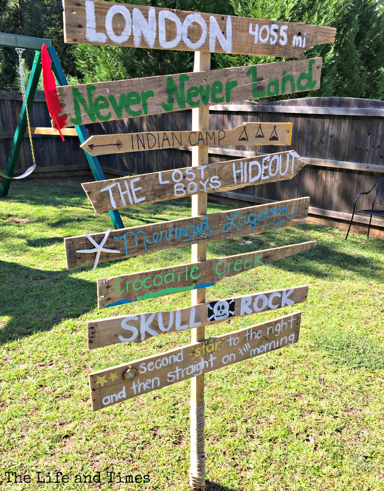 Come take a trip to Neverland with this fun Peter Pan inspired birthday party!