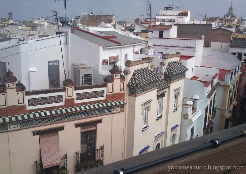 Yonomeaburro hotel eme de sevilla - Terraza hotel eme ...