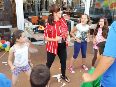 Fiesta infantil en Alcalá de Guadaíra