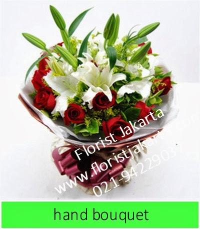 Hand Bouquet Mawar di Florist Jakarta