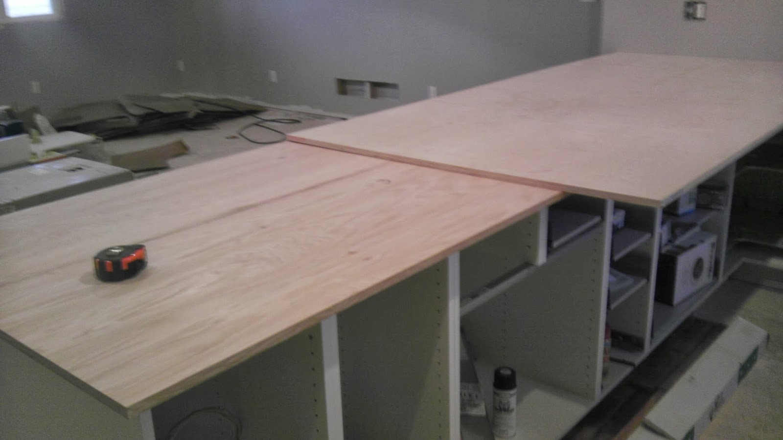 Once upon an acre installing zinc countertops on ikea for Zinc countertop cost