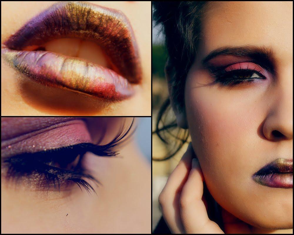 Make up tutorial metallic lips and pink smoky eyes italian make up tutorial metallic lips and pink smoky eyes italian baditri Images