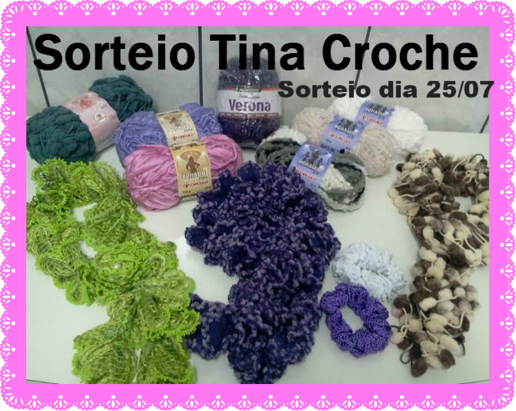 concurso no blog da Tina croche
