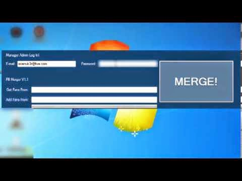 Merge facebook Diffrent Pages v1.1 Download