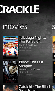 Crackle app for Windows Phone released - watch full length Hollywood movies and TV shows on your Windows Phone