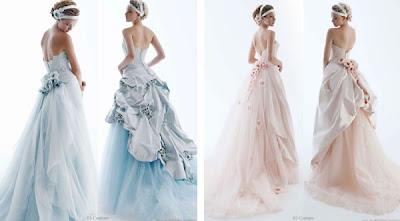 Vestidos de Noiva colorido
