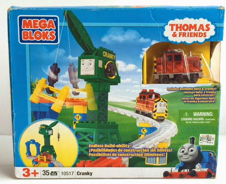 Toy Sale in Manila, Philippines 2015 : Thomas & Friends Mega Bloks Set - Cranky