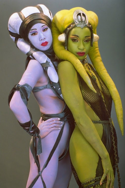 Lyn Me and Oola from Return of the Jedi